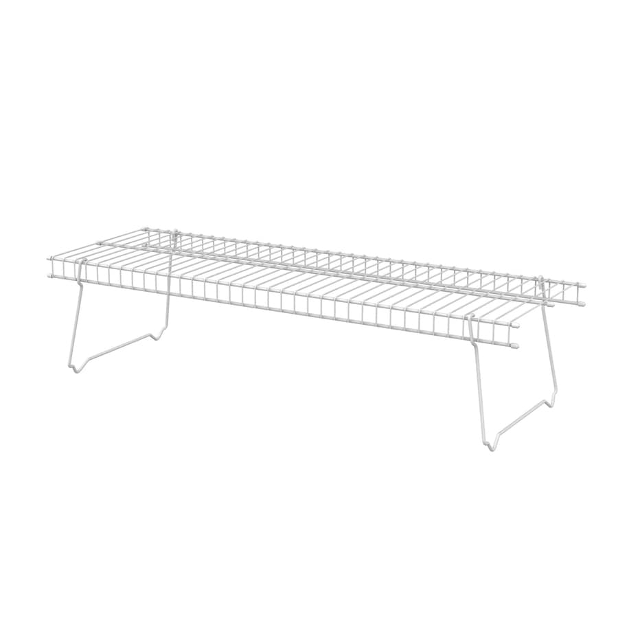 ClosetMaid White Wire Shoe Shelf Kit