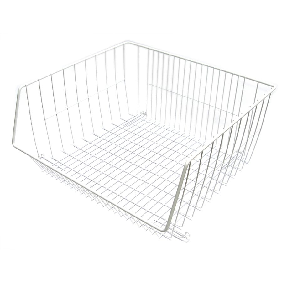 Style Selections 16.5-in W x 8-in H x 15-in D Store Basket