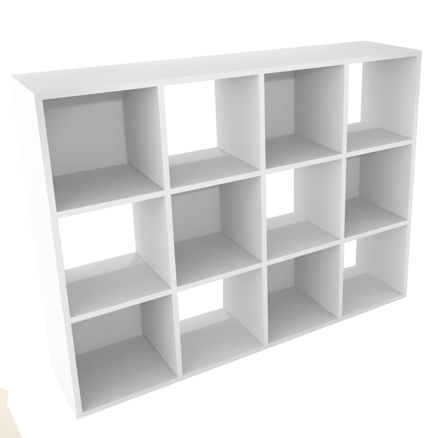 Delicieux ClosetMaid 12 White Laminate Storage Cubes