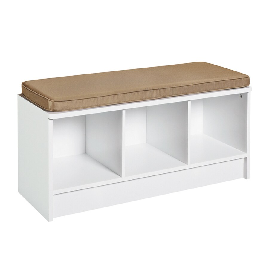 Shop ClosetMaid White Indoor Accent Bench at Lowes.com