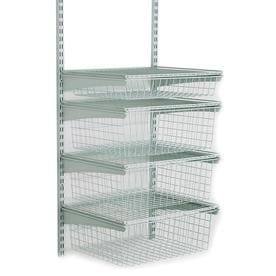 Accessories For Wire Shelving | Wire Closet Accessories At Lowes Com