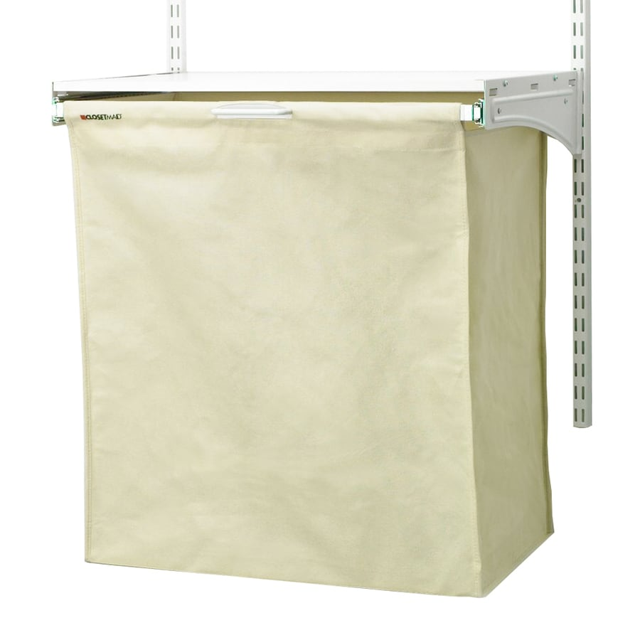 Good ClosetMaid White Canvas Hamper Kit