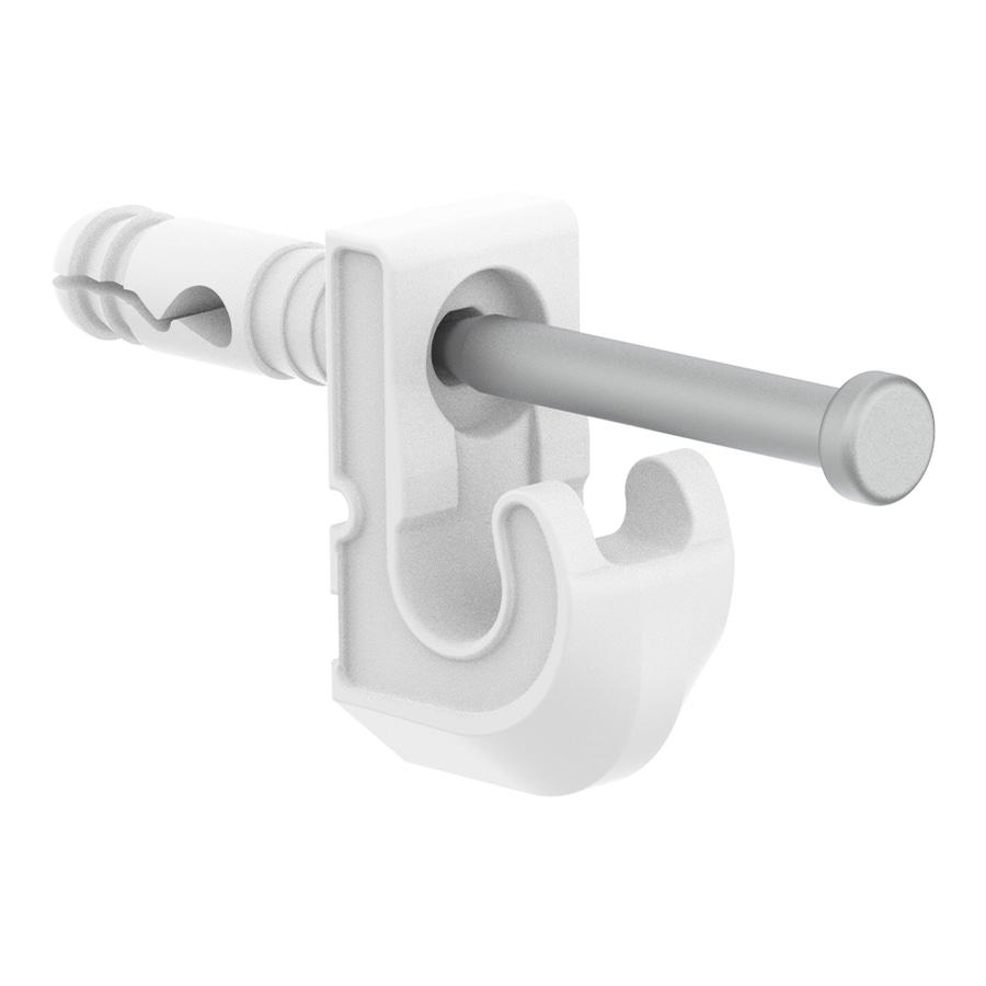 ClosetMaid 7-Pack-in White Rectangle Shelving Hardware