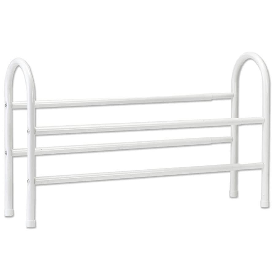 ClosetMaid 8 Pair White Metal Shoe Rack