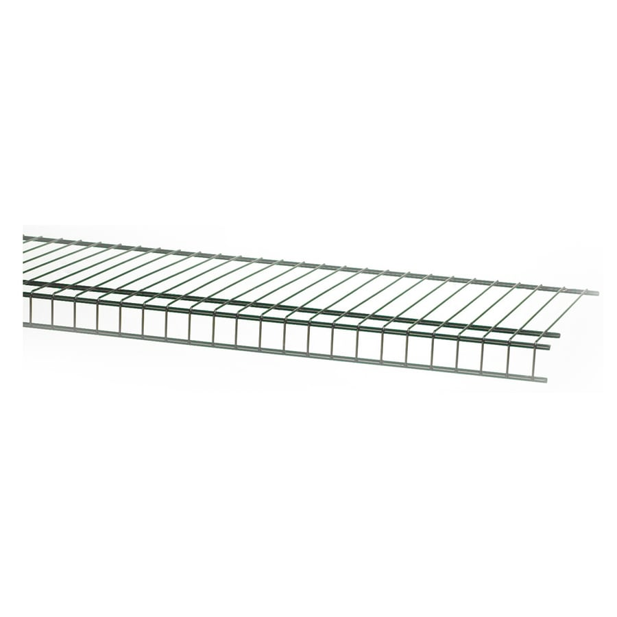 closetmaid 6ft l x 12in d black wire shelf