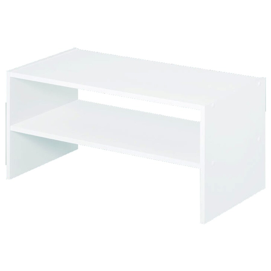 ClosetMaid 24.13-in White Laminate Stacking Storage