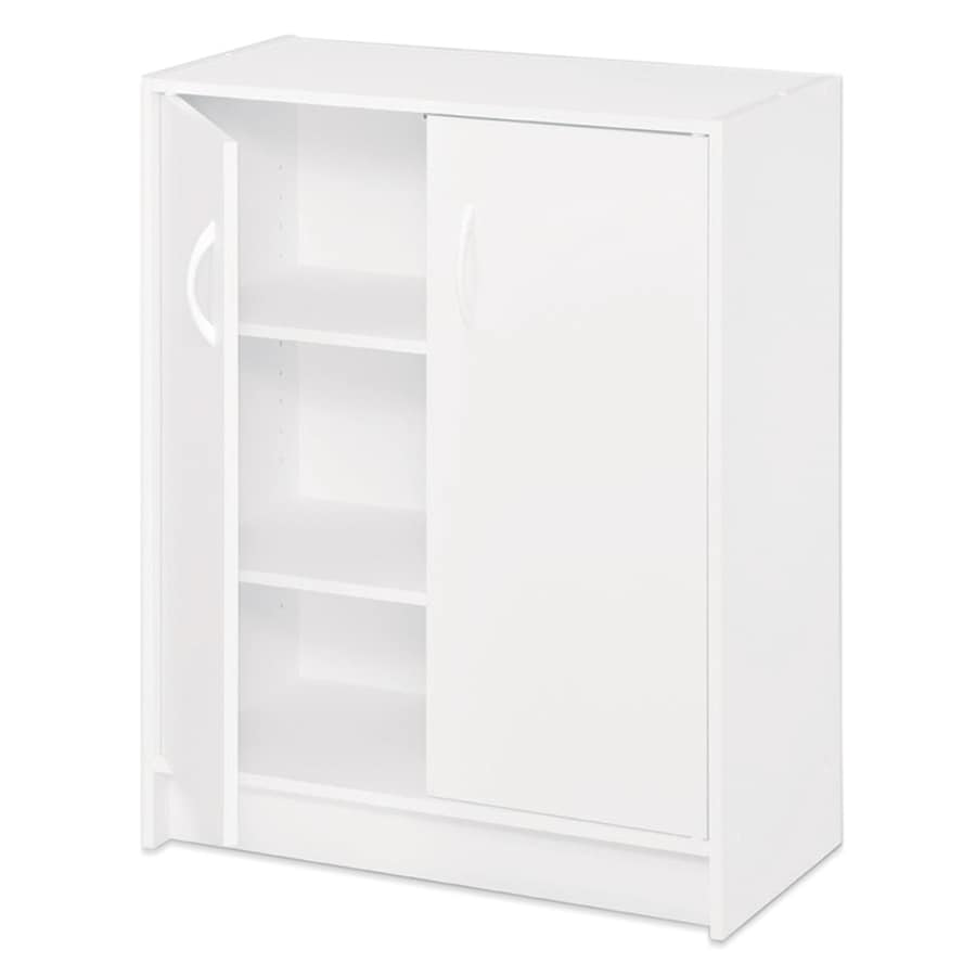 ClosetMaid 24.1-in White Laminate Stacking Storage