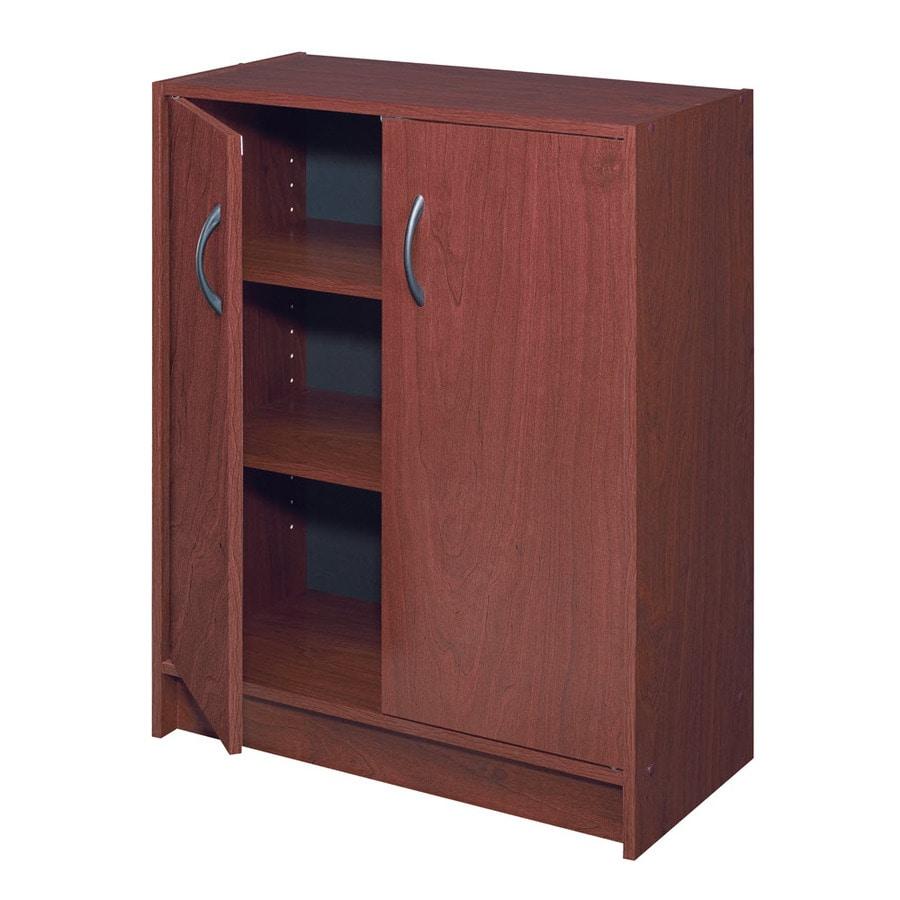 ClosetMaid 24.1-in Cherry Laminate Stacking Storage