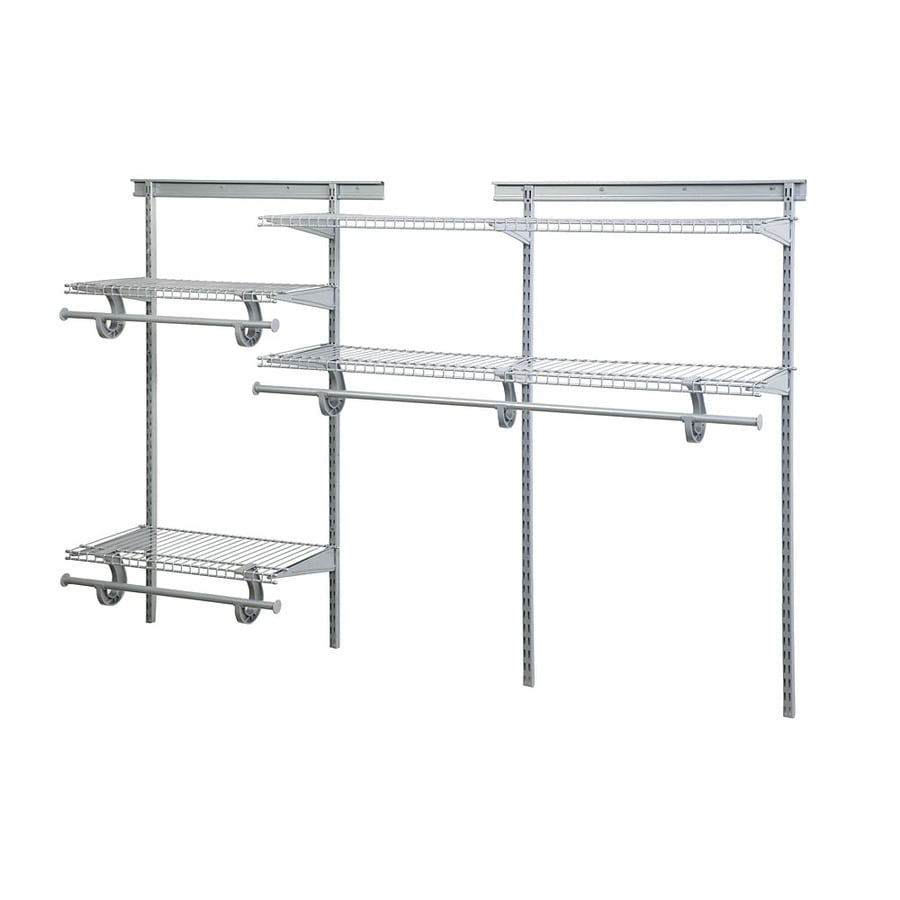 Shop ClosetMaid 6-ft Adjustable Mount Wire Shelving Kit at Lowes.com