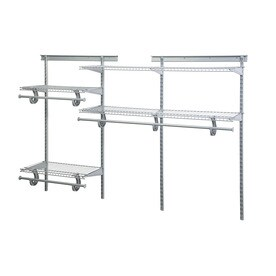 ClosetMaid 6 Ft Adjustable Mount Wire Shelving Kit