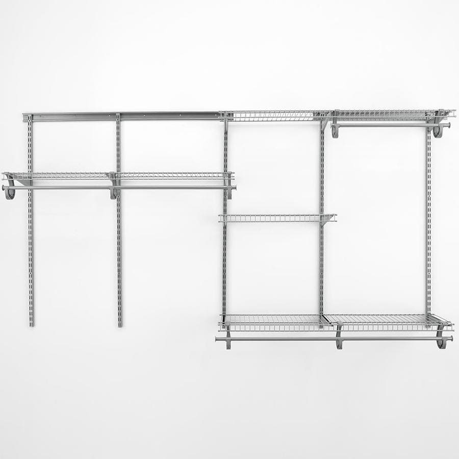 Shop ClosetMaid 6-ft Adjustable Mount Wire Shelving Kits