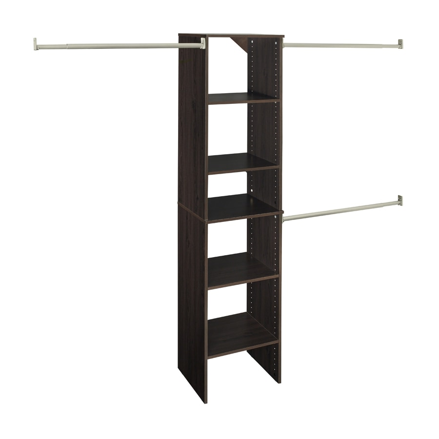 Nice ClosetMaid 17 In Espresso Laminate Stacking Storage
