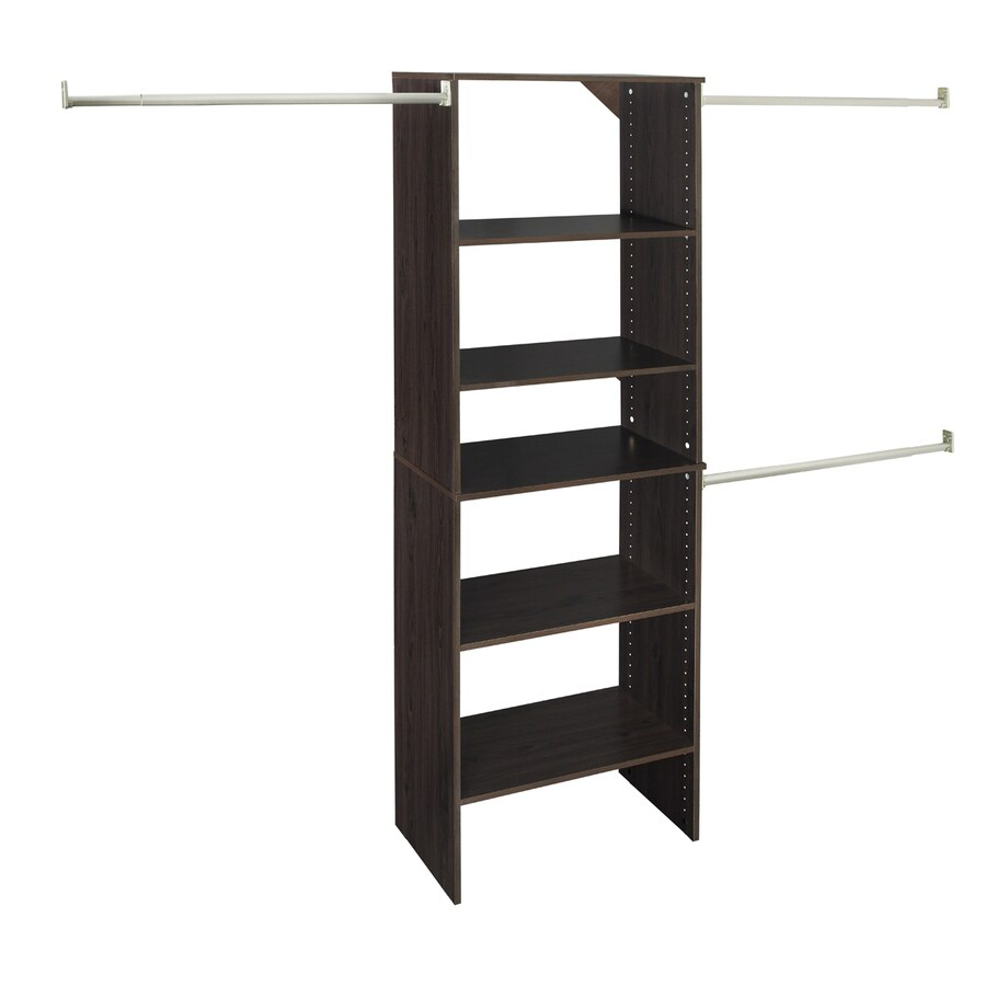 ClosetMaid 25 In Espresso Laminate Stacking Storage