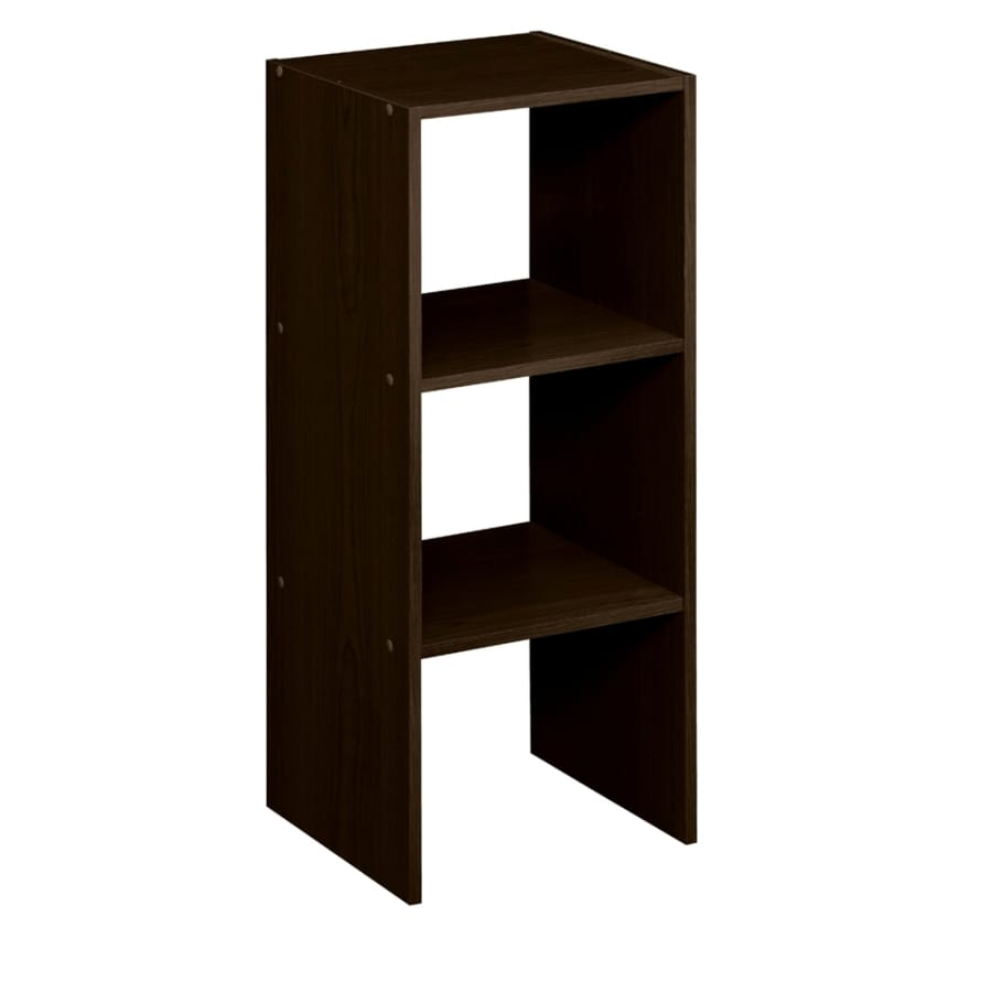 ClosetMaid 12.13 In Espresso Laminate Stacking Storage