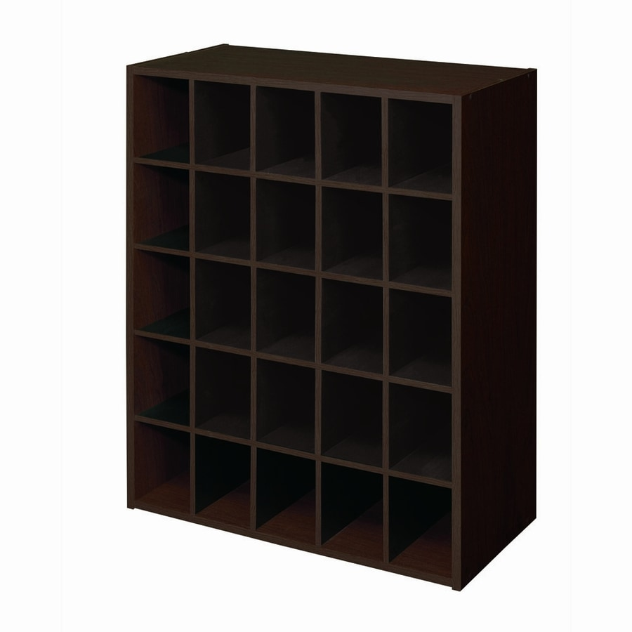 ClosetMaid 25 Espresso Laminate Storage Cubes