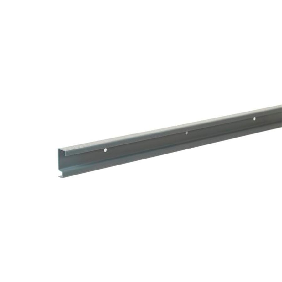 Merveilleux ClosetMaid ShelfTrack Maximum Load 40 In Silver Hang Track Rail