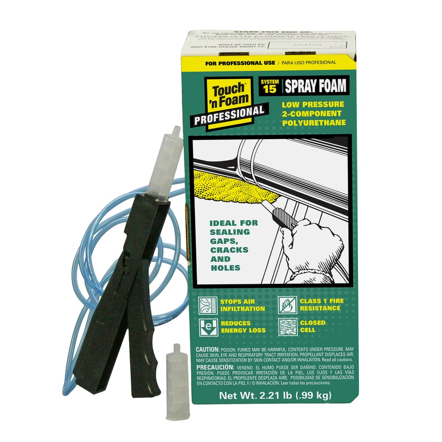 Touch 'n Foam Foam Insulation Kit
