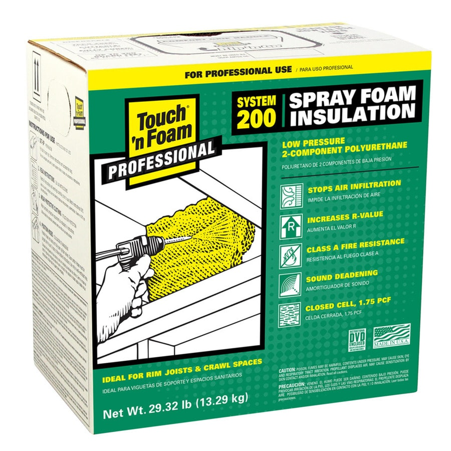 spray foam insulation kits at lowes