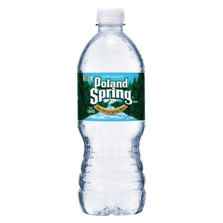 Poland Spring 20 Fl Oz Spring Water At Lowes Com