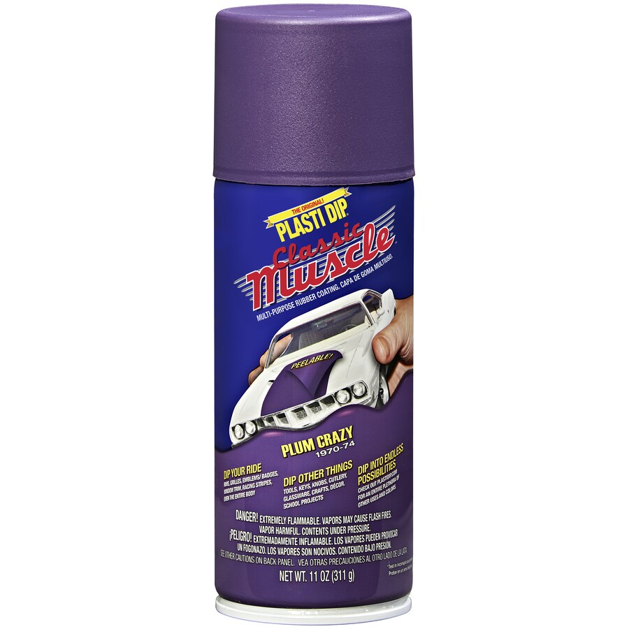 Plasti Dip 11-fl oz Purple Aerosol Spray Rubberized Coating at Lowes com