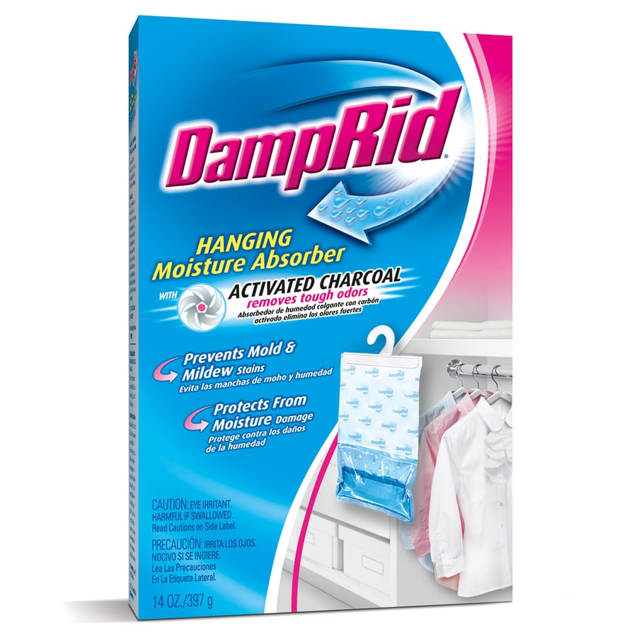 DampRid 14 oz Hanging Moisture Absorber with Charcoal