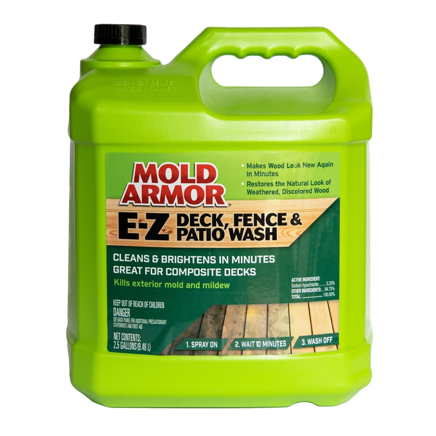 Mold Armor Deck Fence And Patio Wash