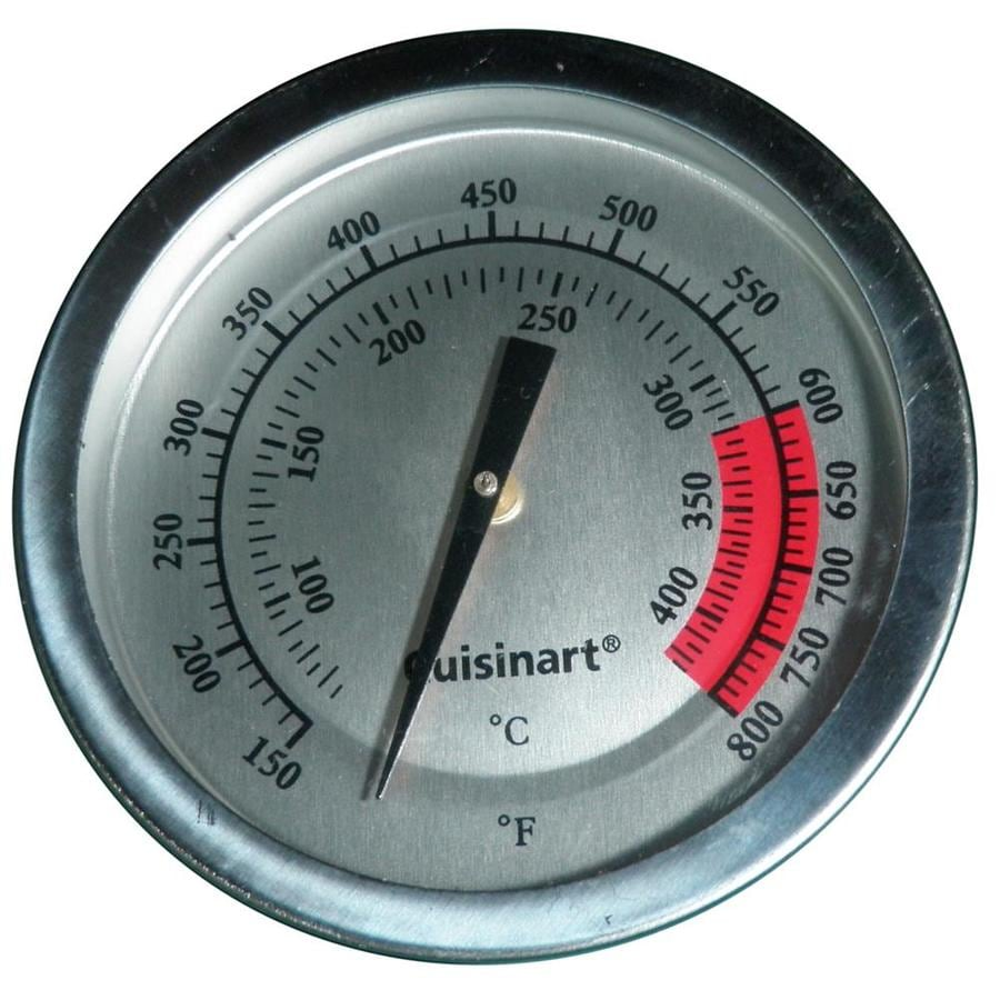 Heavy Duty BBQ Parts Round Grill Thermometer