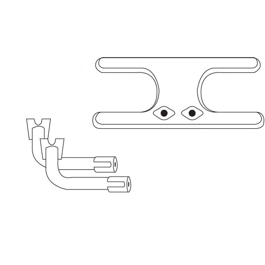 Heavy Duty BBQ Parts 17.5-in Stainless Steel Bar Burner