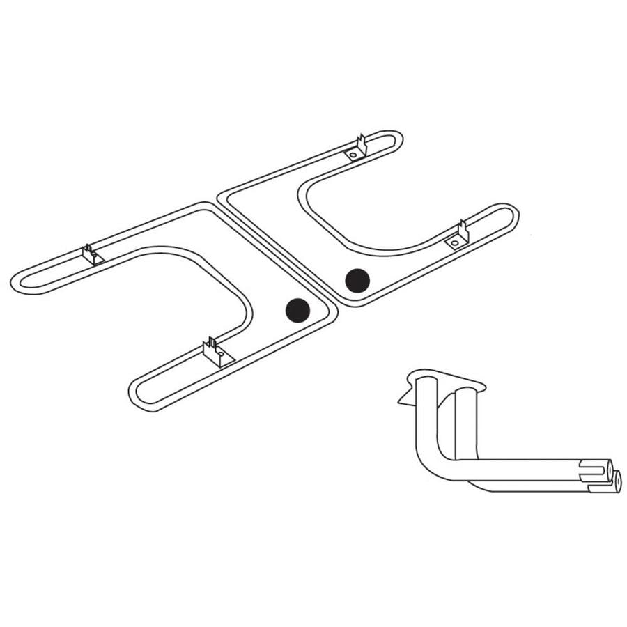 Heavy Duty BBQ Parts 22-in Stainless Steel Bar Burner
