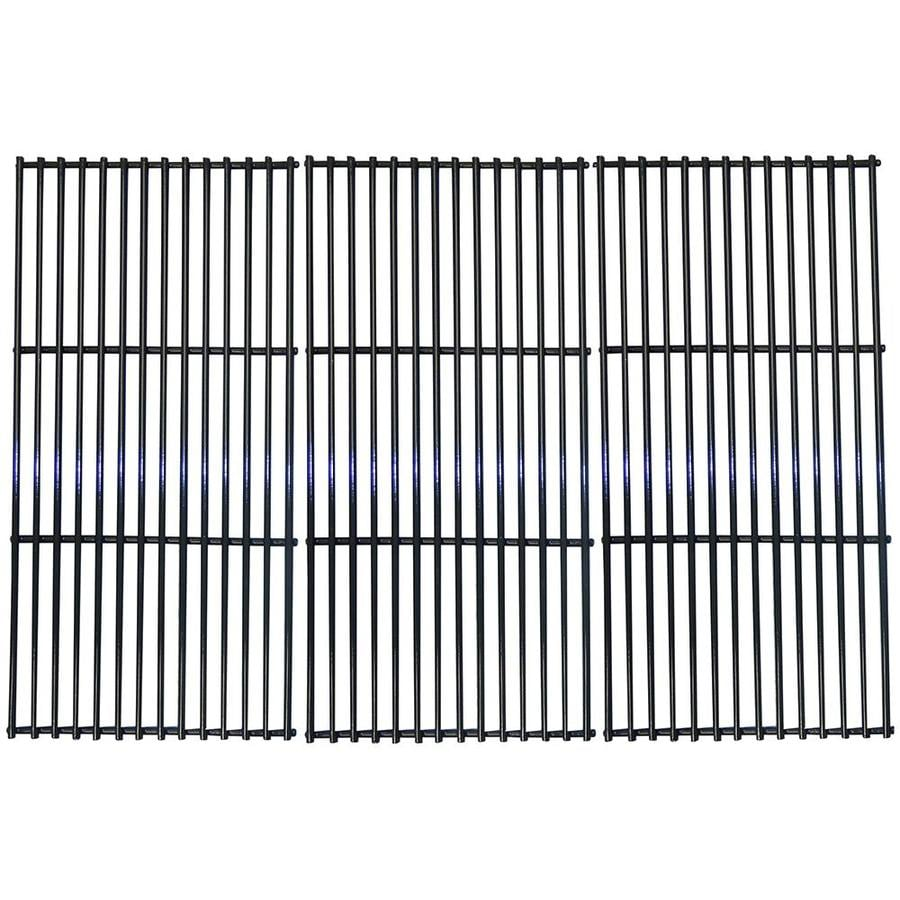 Heavy Duty BBQ Parts 3-Pack Rectangle Porcelain-Coated Steel Cooking Grate
