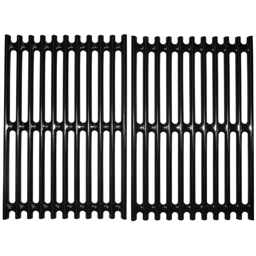 Heavy Duty BBQ Parts Rectangle Porcelain-Coated Steel Cooking Grate