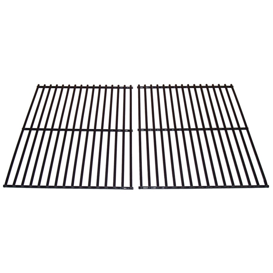 Heavy Duty BBQ Parts 2-Pack Rectangle Porcelain-Coated Steel Cooking Grate