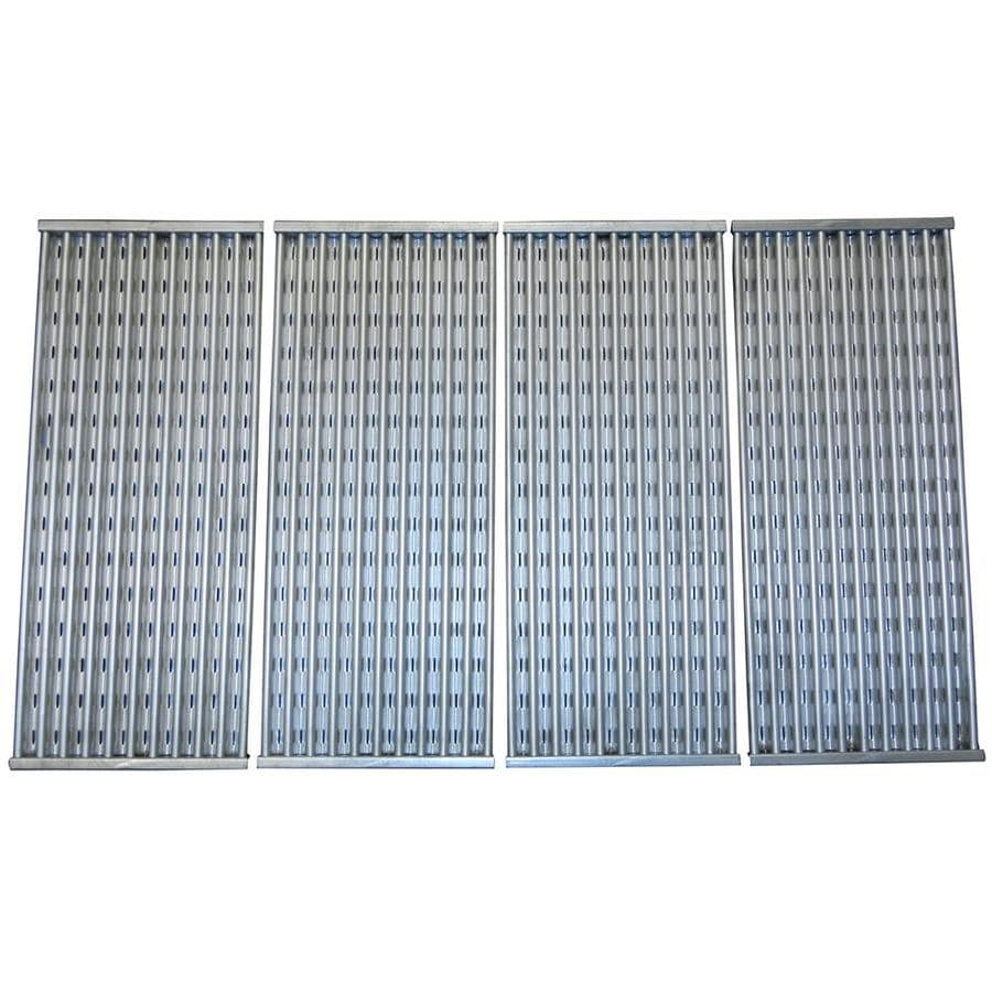 Heavy Duty BBQ Parts 4-Pack Rectangle Stainless Steel Cooking Grate