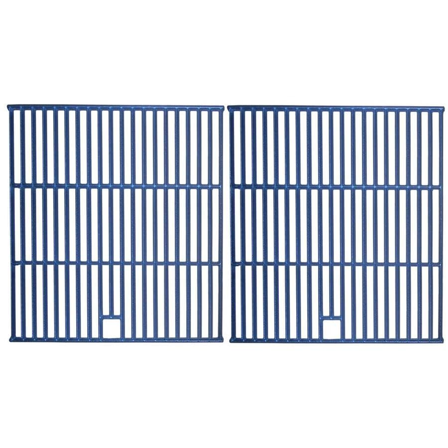 Heavy Duty BBQ Parts 2-Pack Rectangle Porcelain-Coated Cast Iron Cooking Grate