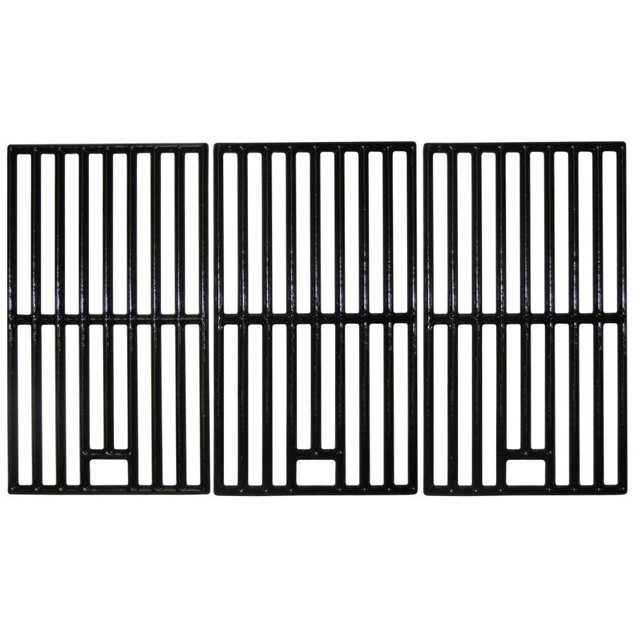Heavy Duty BBQ Parts Rectangle Porcelain-Coated Cast Iron Cooking Grate