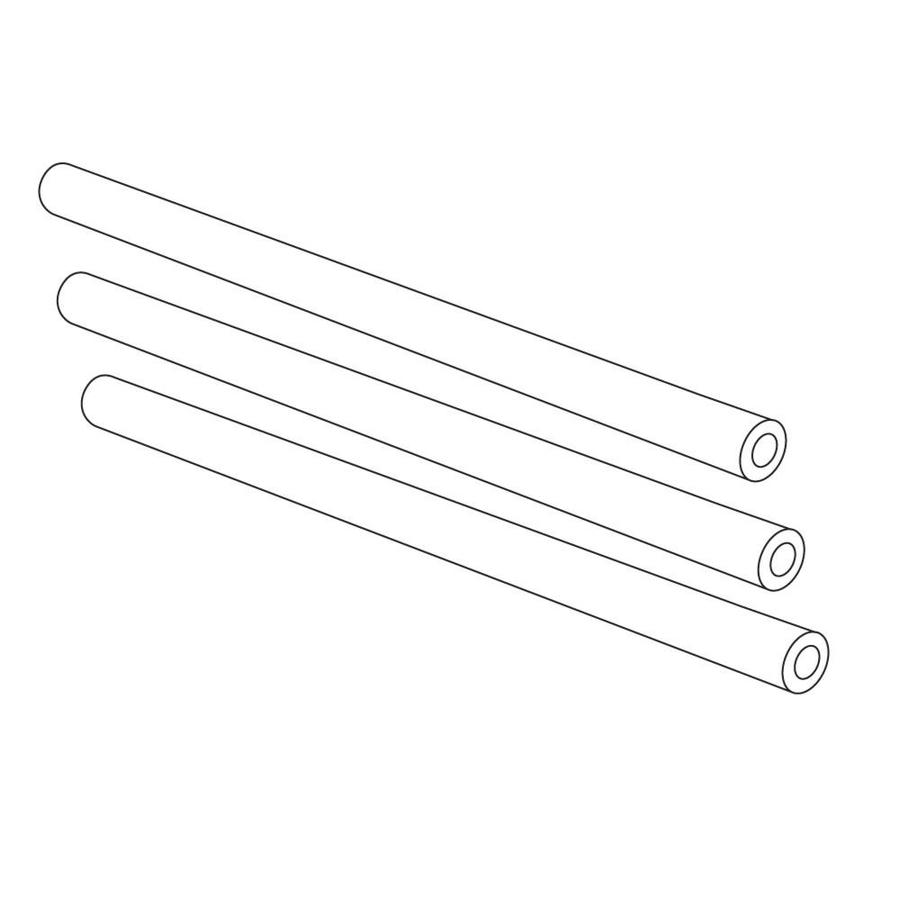 Heavy Duty BBQ Parts 3-Pack Stainless Steel Heat Plates