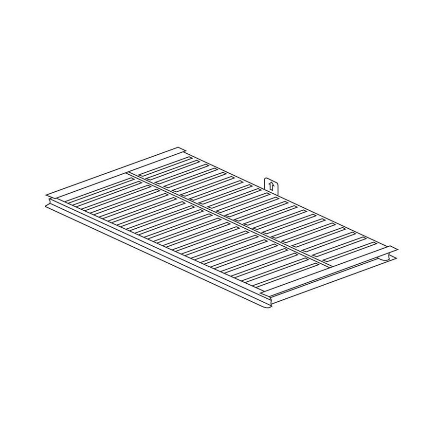 Heavy Duty BBQ Parts Stainless Steel Heat Plate