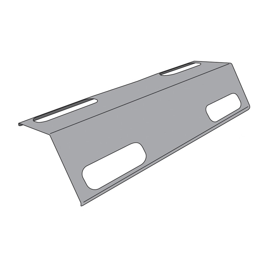 Heavy Duty BBQ Parts Porcelain-Coated Steel Heat Plate