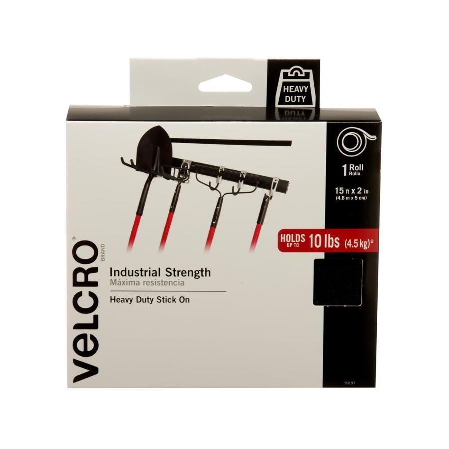 VELCRO 7.25-in Black Roll Fastener