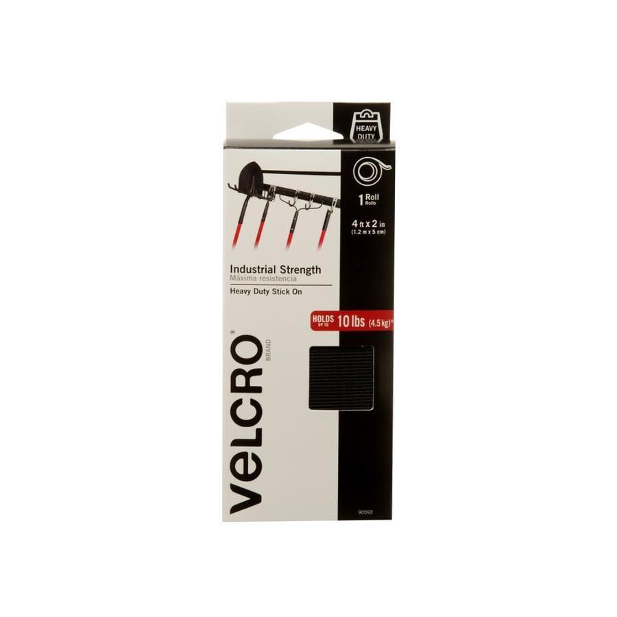 VELCRO 2-in x 48-in Black Roll Fastener