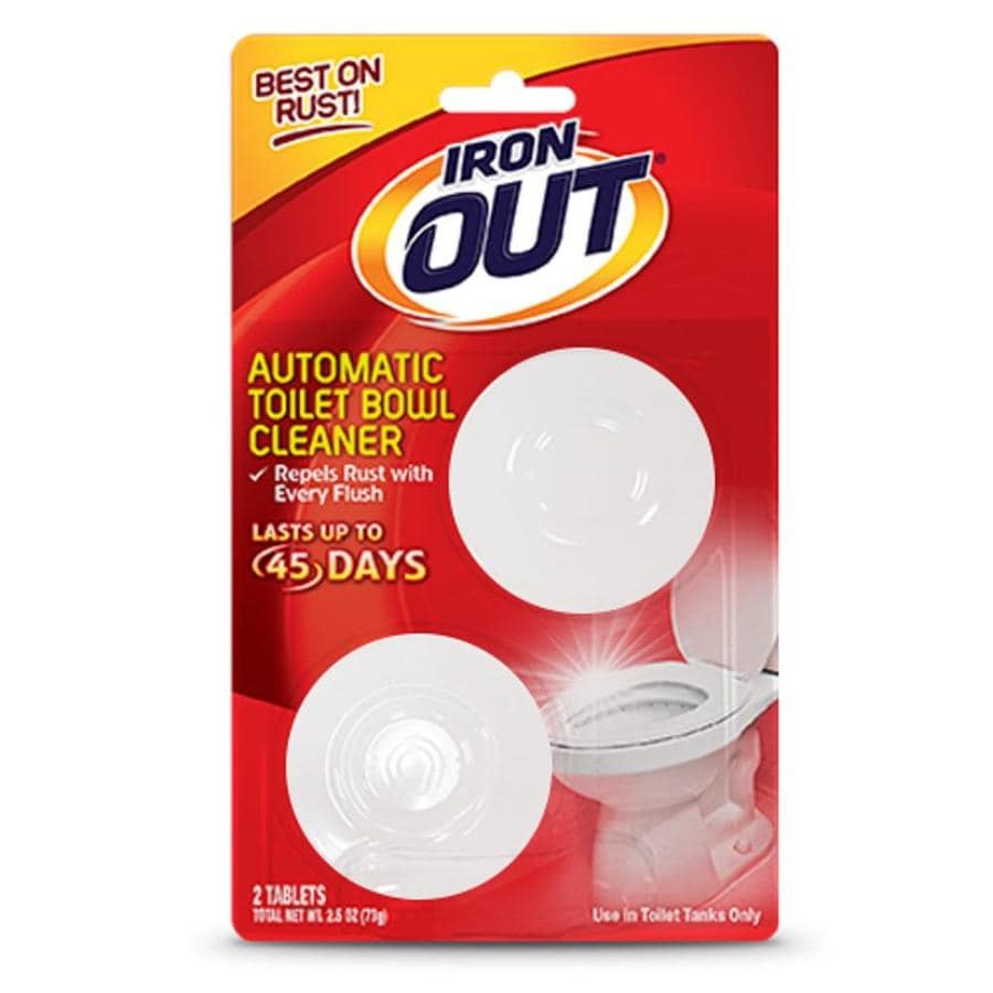 Super Iron Out 2-Count Fresh Clean Scent Toilet Bowl Cleaner