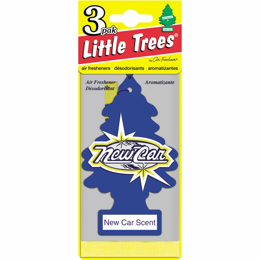 LITTLE TREES 3-Pack New Car Scent Solid Air Fresheners