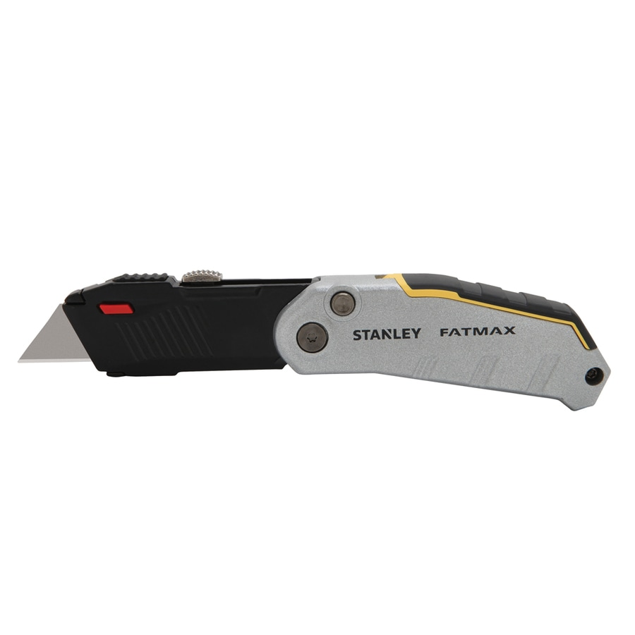Stanley 4.25-in 1-Blade Nickel Utility Knife