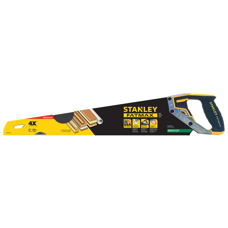 Stanley Fatmax 26-in Tri-Material Hand Saw