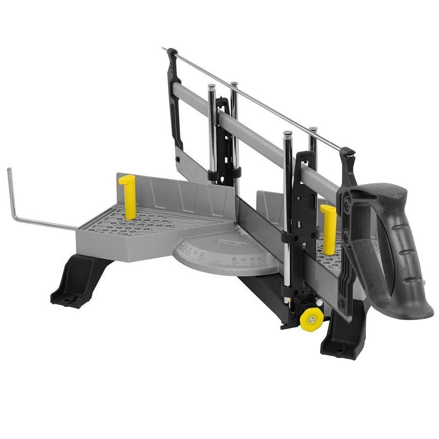 Stanley Adjustable Angle Clamping Miter Box with Saw