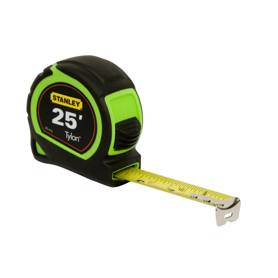 Shop measuring tools at lowes stanley 25 ft tape measure greentooth Images