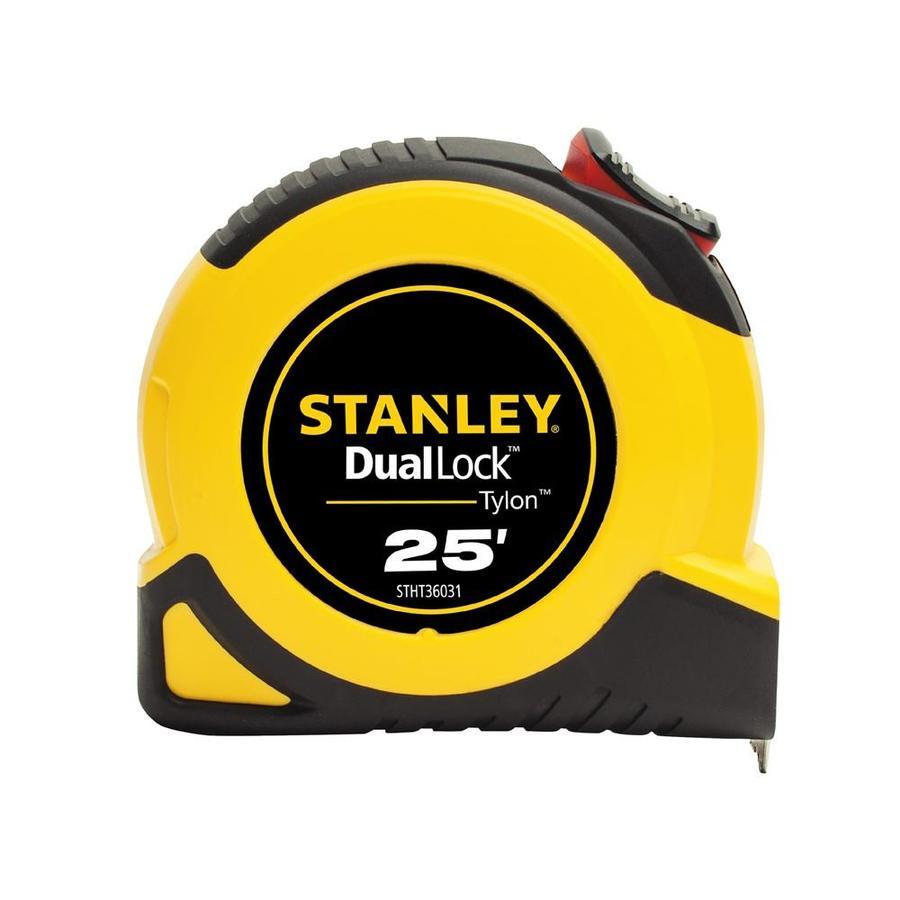 Stanley Dual-Lock 25-ft Tape Measure