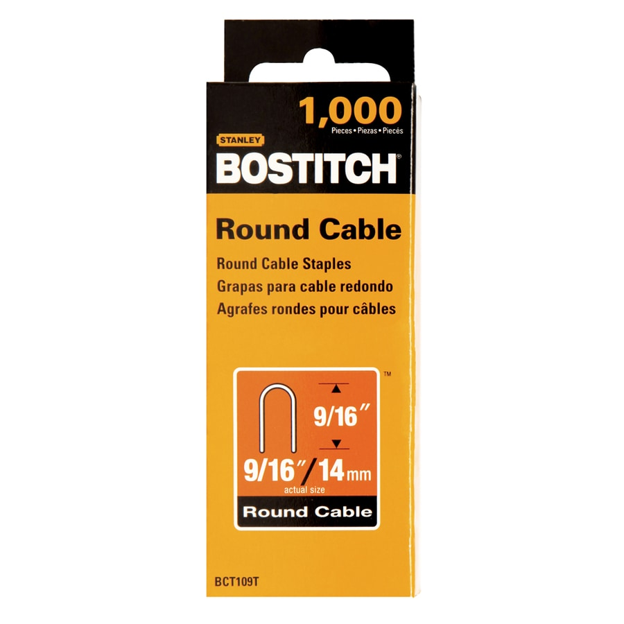 Shop bostitch 1000 count 916 in cable and wire staples at lowes bostitch 1000 count 916 in cable and wire staples greentooth Images