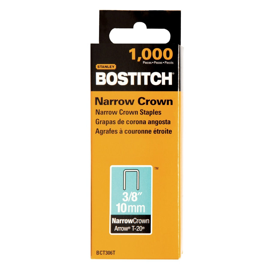 Bostitch 1,000-Count 3/8-in General Purpose Staples