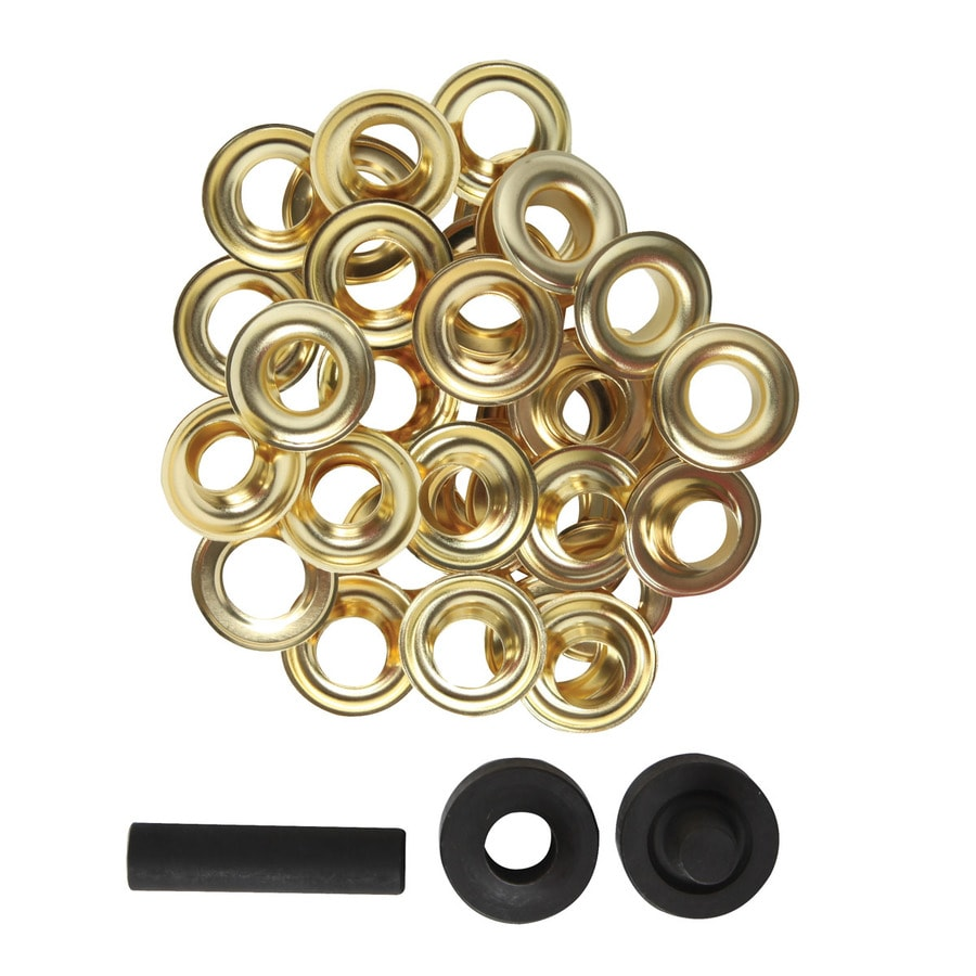 Shop bostitch 27 pack metal grommets at for 3 furniture grommet